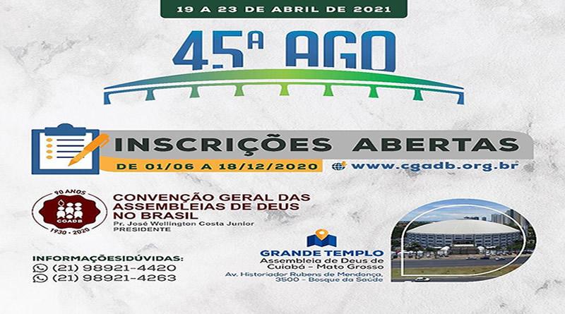 45ª AGO- CGADB