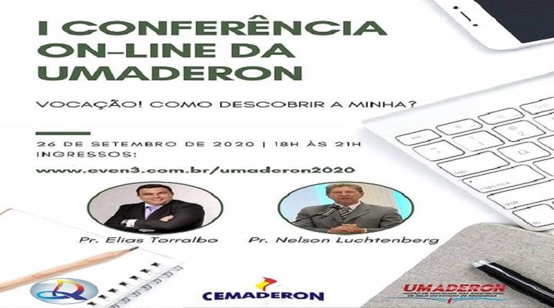 Vem ai: I Conferência on-line da Umaderon