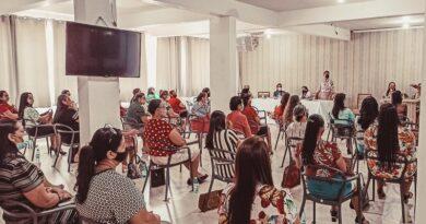 Evento- Encontro das Esposas de Pastores presidentes na Cemaderon