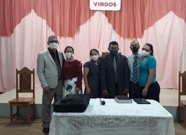 Visita dos Pastores Paulo Antonio Vaz e Pr. Jefferson Lopes ao campo missionário de Porto Rolim-Ro